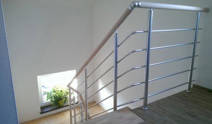 Hliníkové schodišťové zábradlí