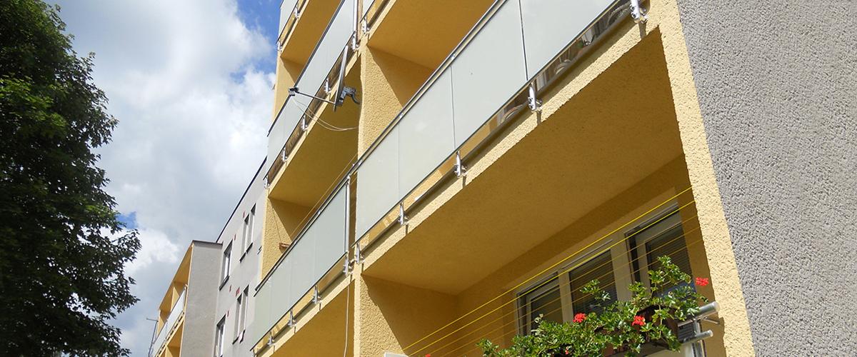 Balkonové zábradlí lodžie